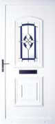 Choice of UPVC front doors available